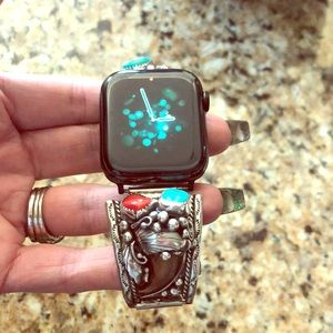 Accessories - Vintage Navajo SS Bear claw Apple Watch Band